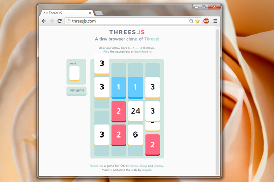 threes playing